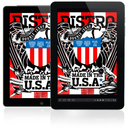 Distro Issue 47 Made in the USA edition