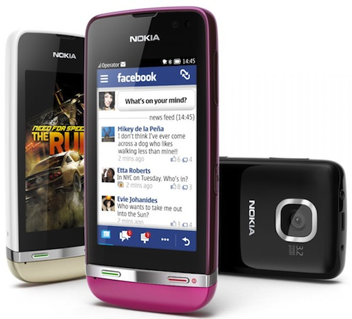 Nokia introduces Asha Touch range of keypad-free feature phones (video