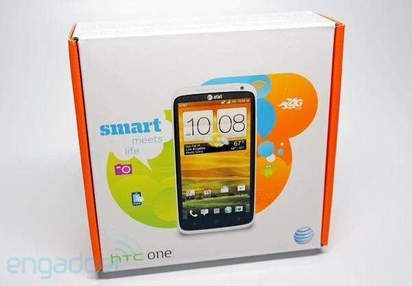 Engadget Giveaway win an AT&amp;T HTC One X!