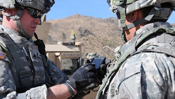 Android US Army soldiers to leverage portable battlefield network and smartphones