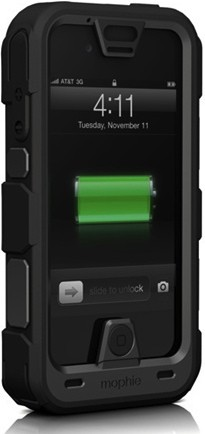 Mophie's Juice Pack PRO aims to keep iPhone 4  4S protected and powered during wild adventures