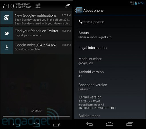 Android 41 SDK in photo and video