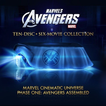 Avengers Bluray preorders listed, including massive 10disc Marvel Cinematic Universe set