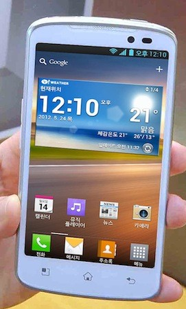 LG starts Optimus LTE rollout on two Korean carriers