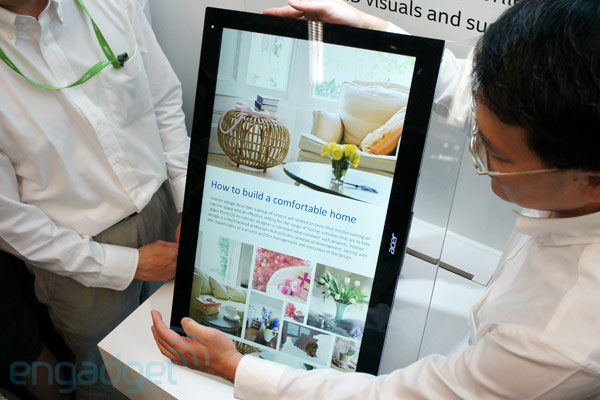 Acer introduces Windows 8 all-in-one U Series at Computex 2012