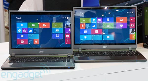Acer Aspire Timeline Ultra M5 handson video