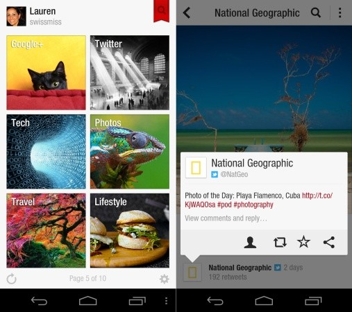 Flipboard officially launches on Android, in multiple app stores and for more countries