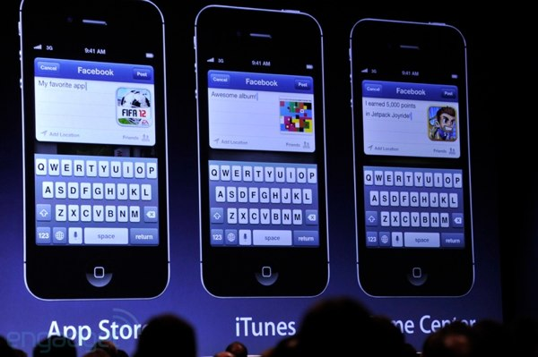 Apple integrates Facebook into iOS 6, App Store, Macs