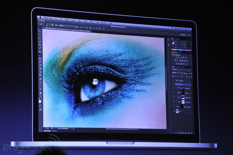 Final Cut Pro Photoshop updated for retina display