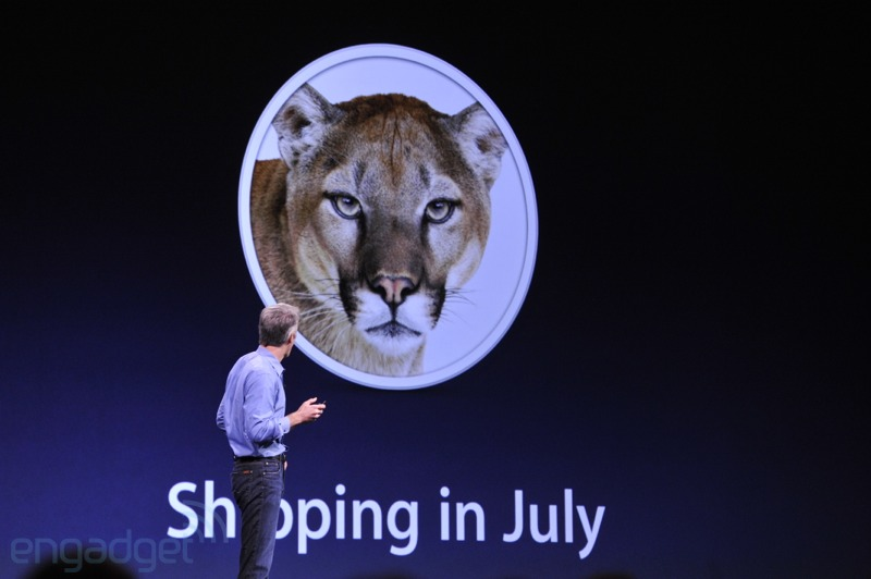 OS X Mountain Lion: arrives on Macs next month, priced at $20
