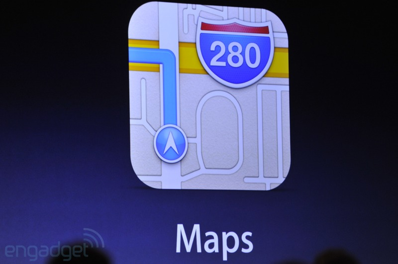 Apple officially gives google maps the boot
