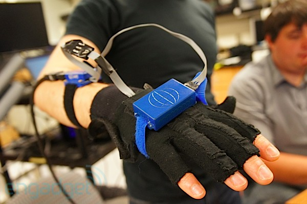 ATLAS bimanual-rehabilitation glove system hands-on