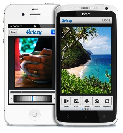 Aviary launches photo editing application on iOS, turns Android plugin into an app