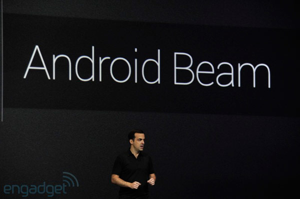 Google details Android Jelly Bean NFC features Beam upgrade, taptopair speaker