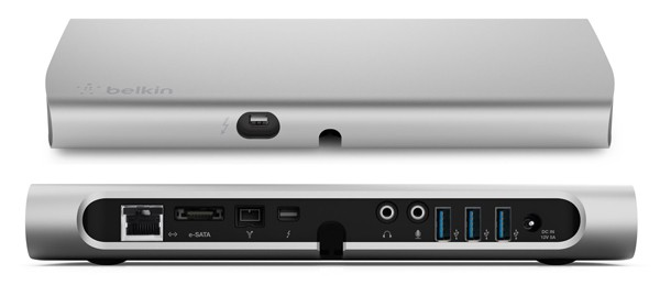 Belkin upgrades its Thunderbolt dock even before it's available