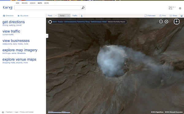 Bing maps gets another 165TB of satellite images, knocking on Google Earth's door louder than ever