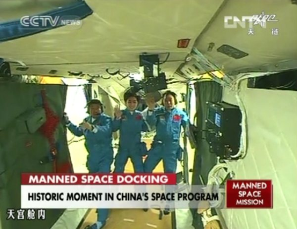 China docks its first crewed space capsule, gives southeast Asia its place in space