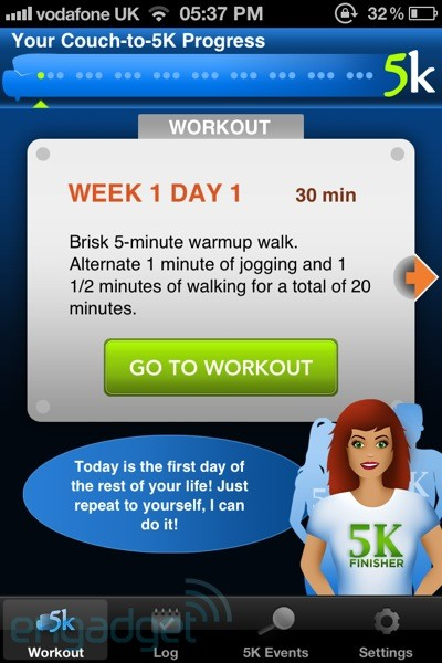 Fitter, Happier: an eight-week exercise in using technology to help lose weight