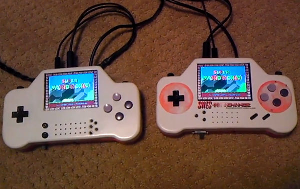 SNES001 Advance gives two retro gamers a screen to play, guarantees no fights for TV time video