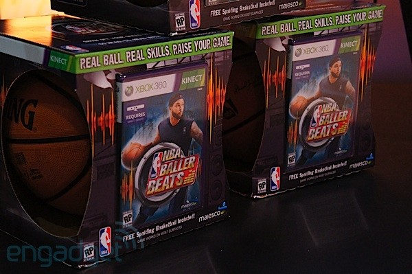 NBA Baller Beats adds a real basketball to your Kinect arsenal, we attempt to go handson video