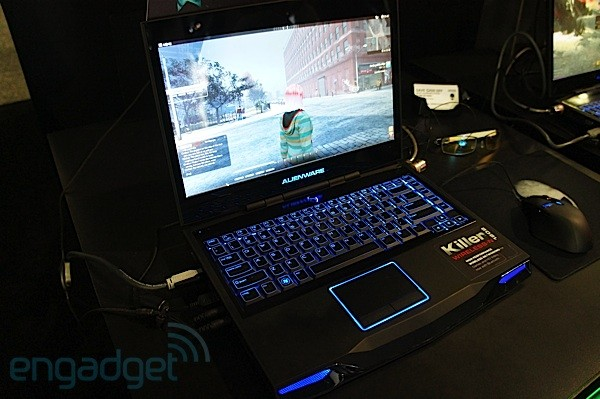 Killer WirelessN 1202 WiFi  Bluetooth cards in Alienware gaming laptops eyeson