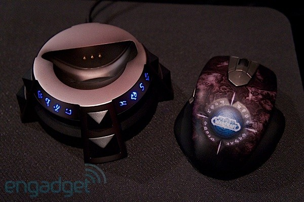 SteelSeries shows off new WoW wireless mouse, cache of corded rodents and a headset at E3