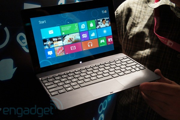 ASUS outs Tablet 600, a Transformerlike Slate running Windows RT