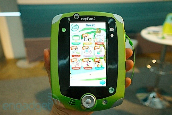 LeapFrog LeapPad 2 and Leapster GS handson video