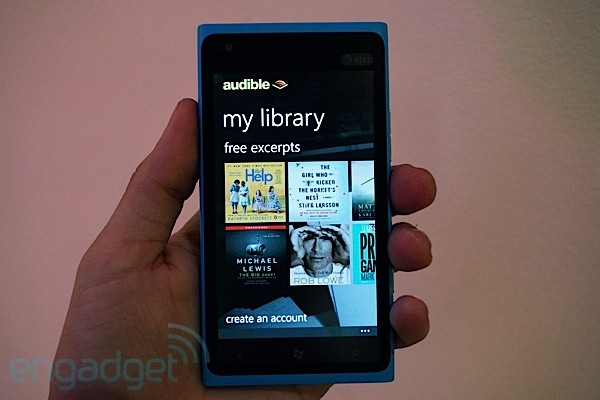 Amazon Audible hits WP 75, brings gesture control to audiobooks, lacks voice control
