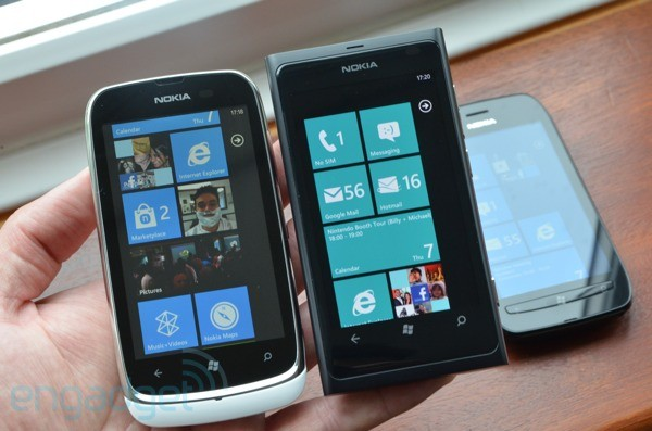 Nokia Lumia 610 and 800
