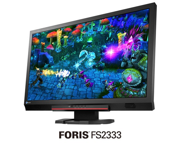 EIZO FORIS FS2333 23inch gaming monitor helps you see what evil lurks in the shadows