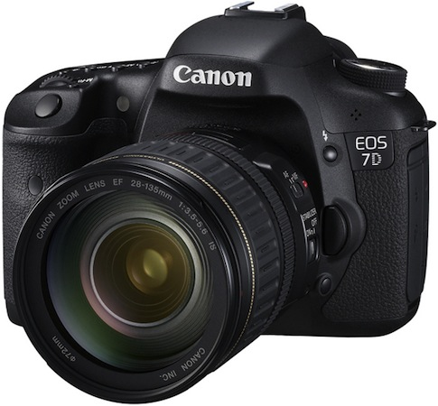 Canon 7D 20X firmware update scheduled for August, brings plenty of free fixins