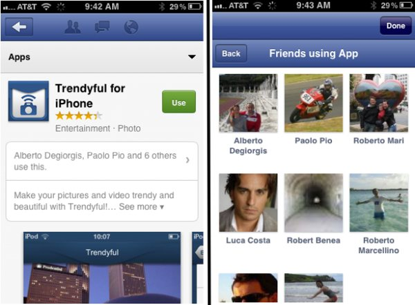 Facebook App Center for mobile leaks out on iOS, uses peer pressure to 