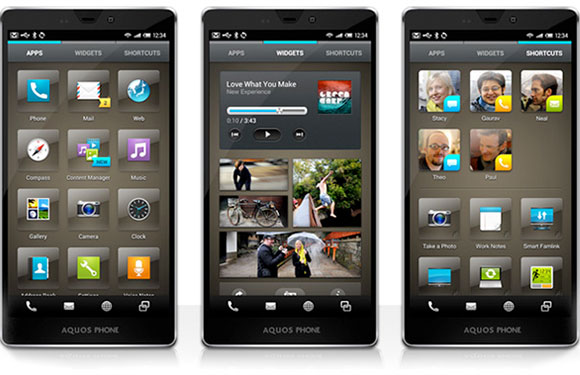 Sharp teams up with design company for new Feel UX Android skin