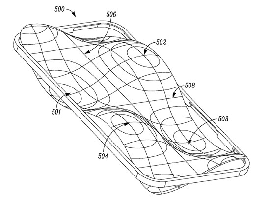 'Free form' lens over mobile display could improve audio and haptics, says Motorola
