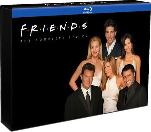 Friends The Complete Series Bluray set arrives November 13th for just under three bills