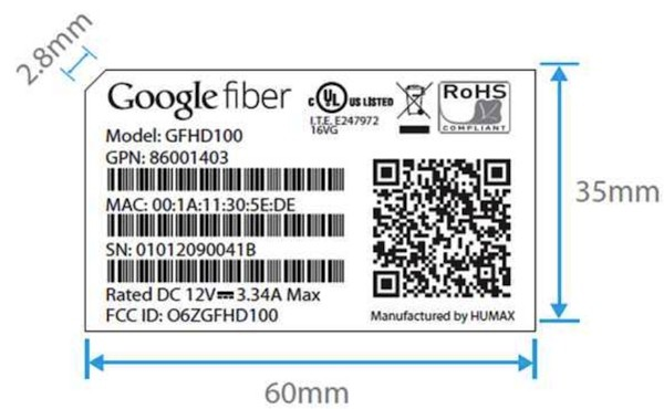 Google Fiber GFHD100 'IP settop box' breezes through the FCC, doesn't say where it's headed