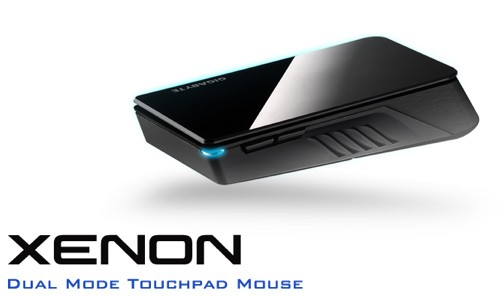 Gigabyte launches Aivia Xenon dual mode touchpad mouse