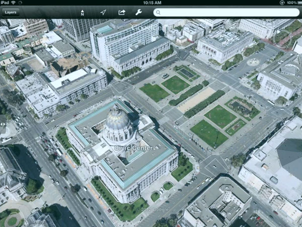 Google Maps, Earth take on full 3D maps