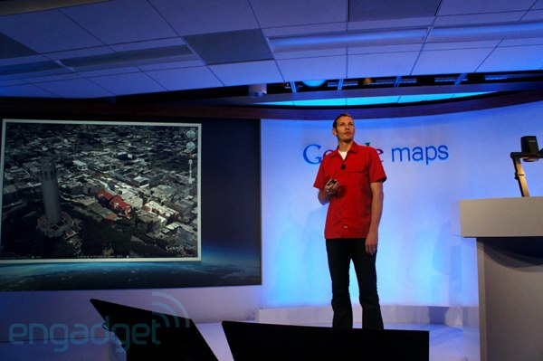google next dimension of maps stage TECHPULSE June 23, 2012