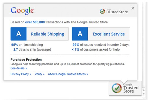 google trusted stores Google rolls out Trusted Stores verification program for online retailers