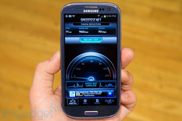 T-Mobile Galaxy S III hands-on
