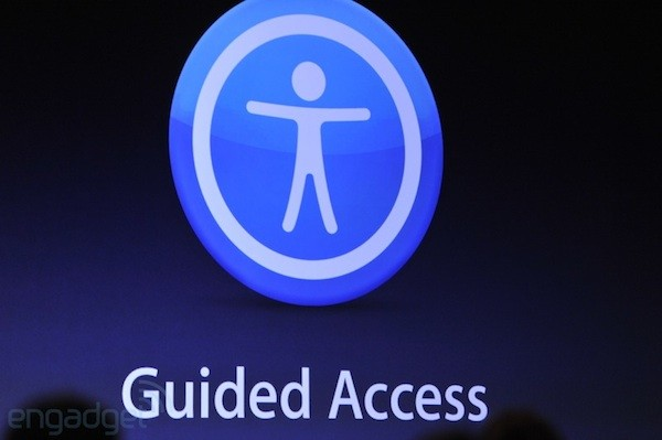 Apple announces Guided Access for iOS devices 