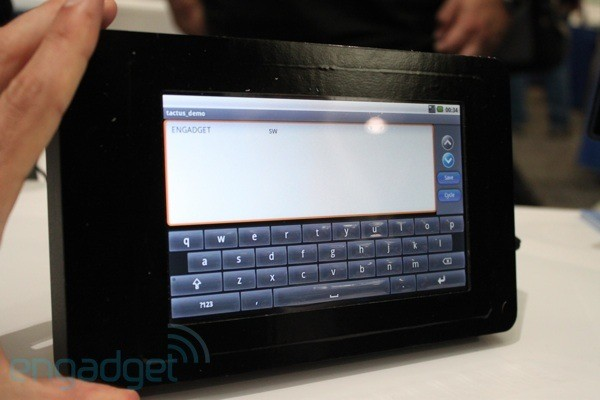 Tactus technology gives your display keys when you want them, full touchscreen when you don't