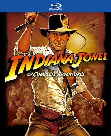 Indiana Jones The Complete Adventures Bluray set has a release date, September 18th