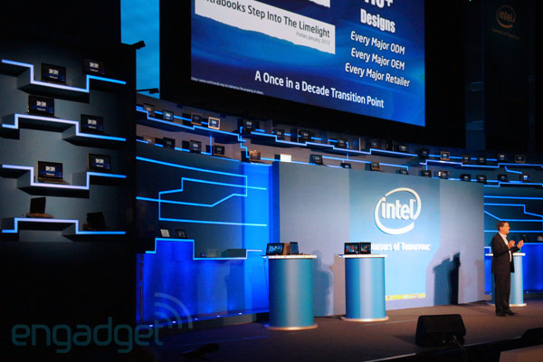 Visualized: Intel drops the curtain on 50 Ultrabooks at Computex keynote