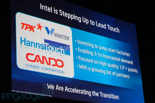 Intel bets big on touchenabled Ultrabooks, invests in factories across the globe