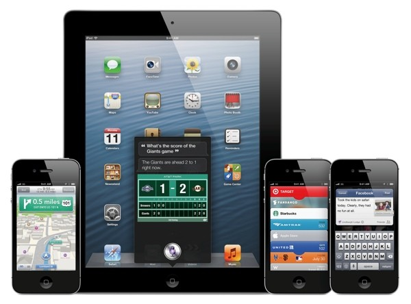 iOS 6 device array
