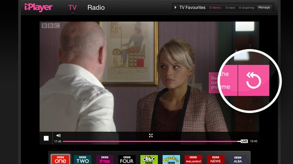 BBC 'Live Restart' bring pause, rewind and 'start from beginning' to iPlayer live streams