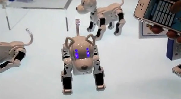i-SODOG robot unveiled, dares you to resist its LED-puppy dog eyes